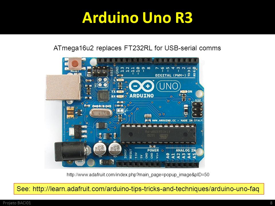 Arduino Uno R3 ATmega16u2 replaces FT232RL for USB-serial comms