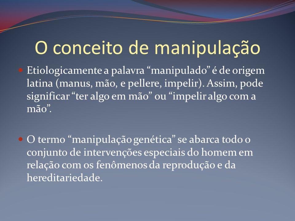 O conceito de manipulação
