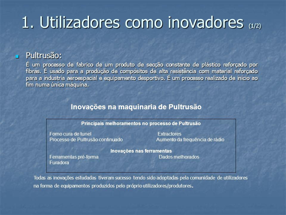1. Utilizadores como inovadores (1/2)