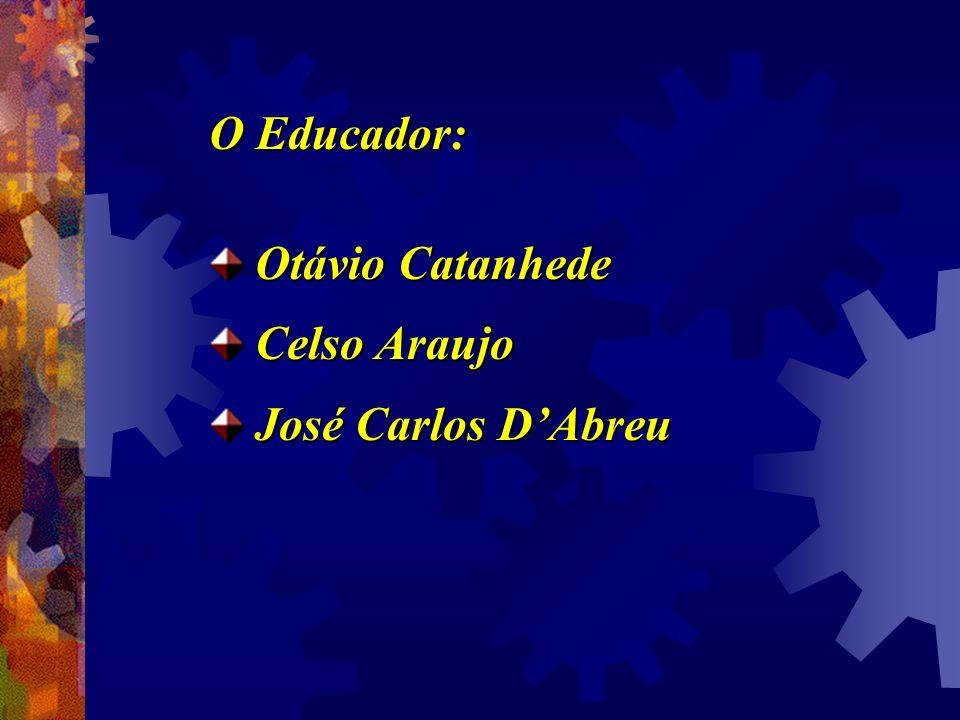 O Educador: Otávio Catanhede Celso Araujo José Carlos D'Abreu