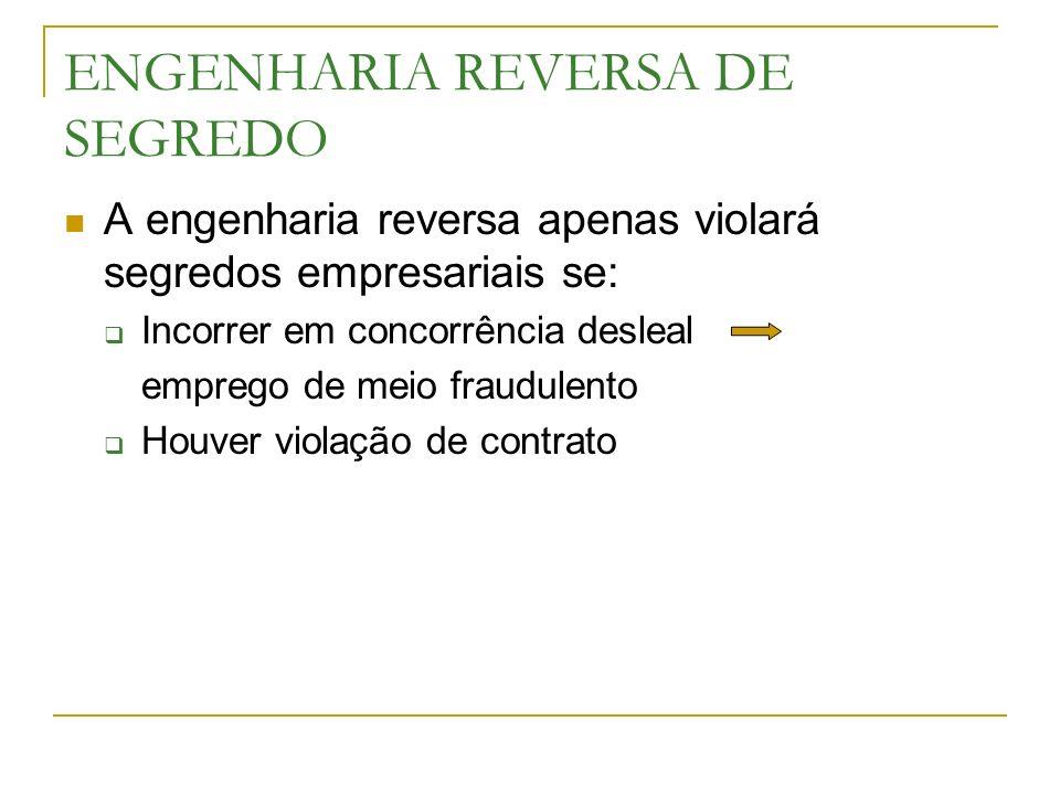 ENGENHARIA REVERSA DE SEGREDO