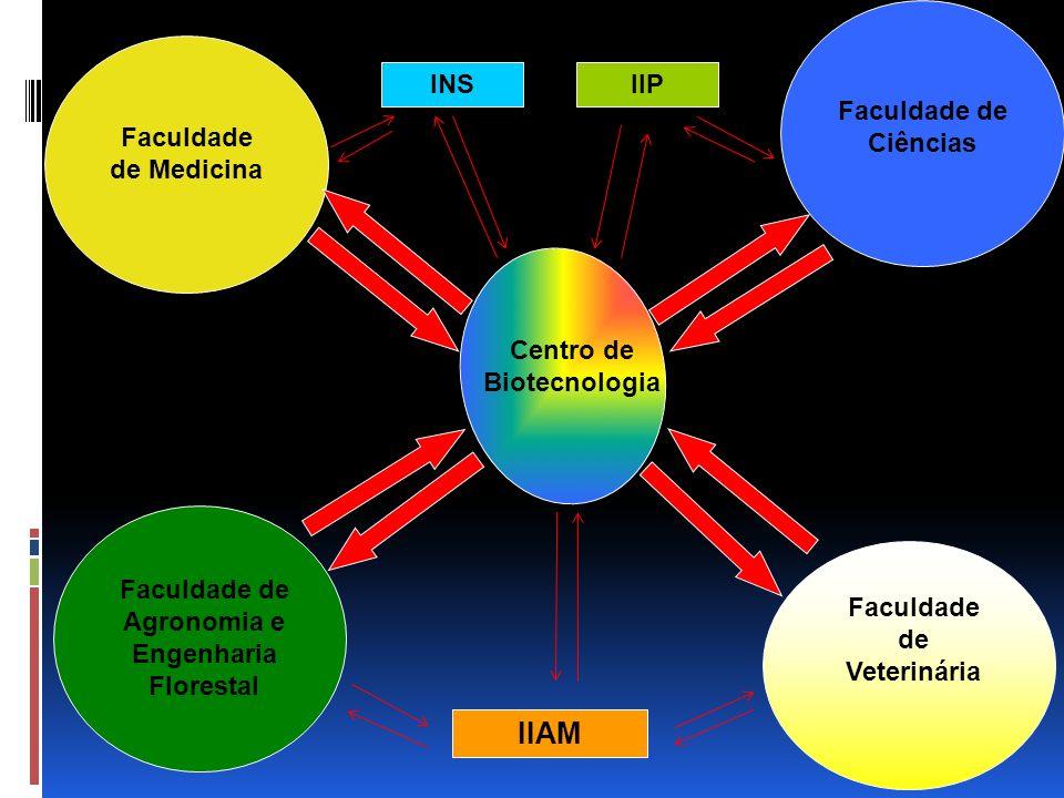 IIAM INS IIP Faculdade de Ciências Faculdade de Medicina
