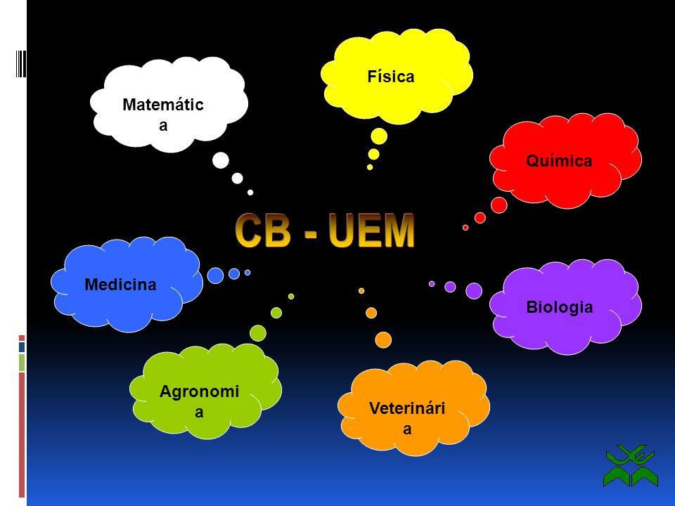 CB - UEM Física Matemática Química Medicina Biologia Agronomia
