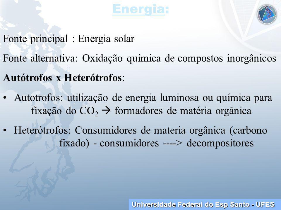 Energia: Fonte principal : Energia solar