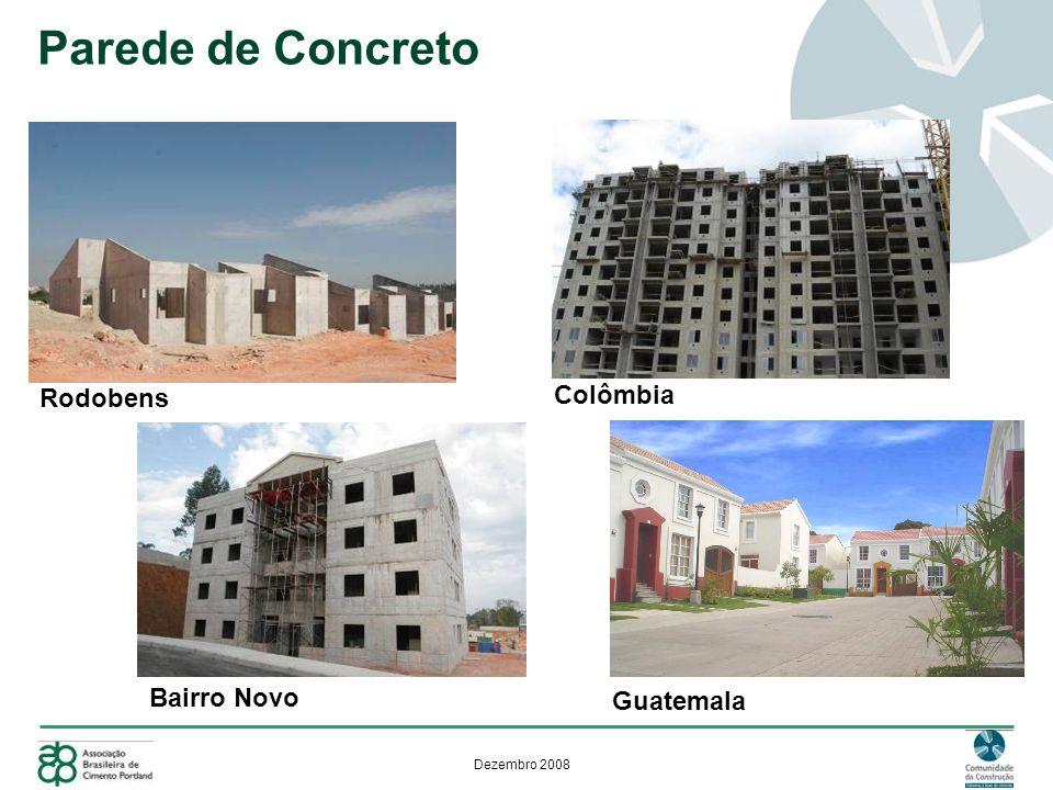 Parede de Concreto Rodobens Colômbia Bairro Novo Guatemala