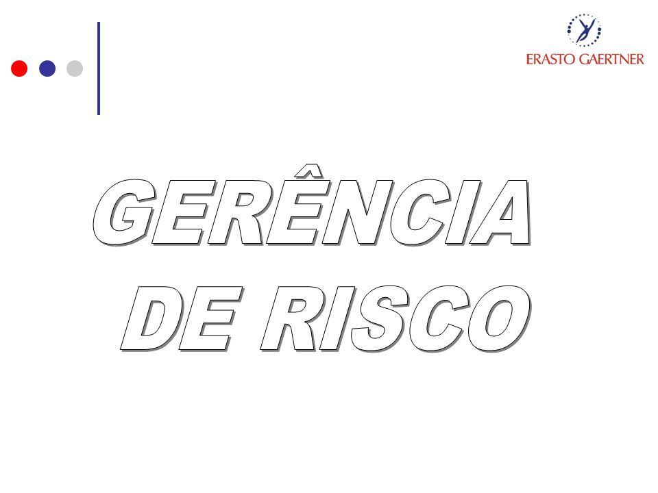 GERÊNCIA DE RISCO