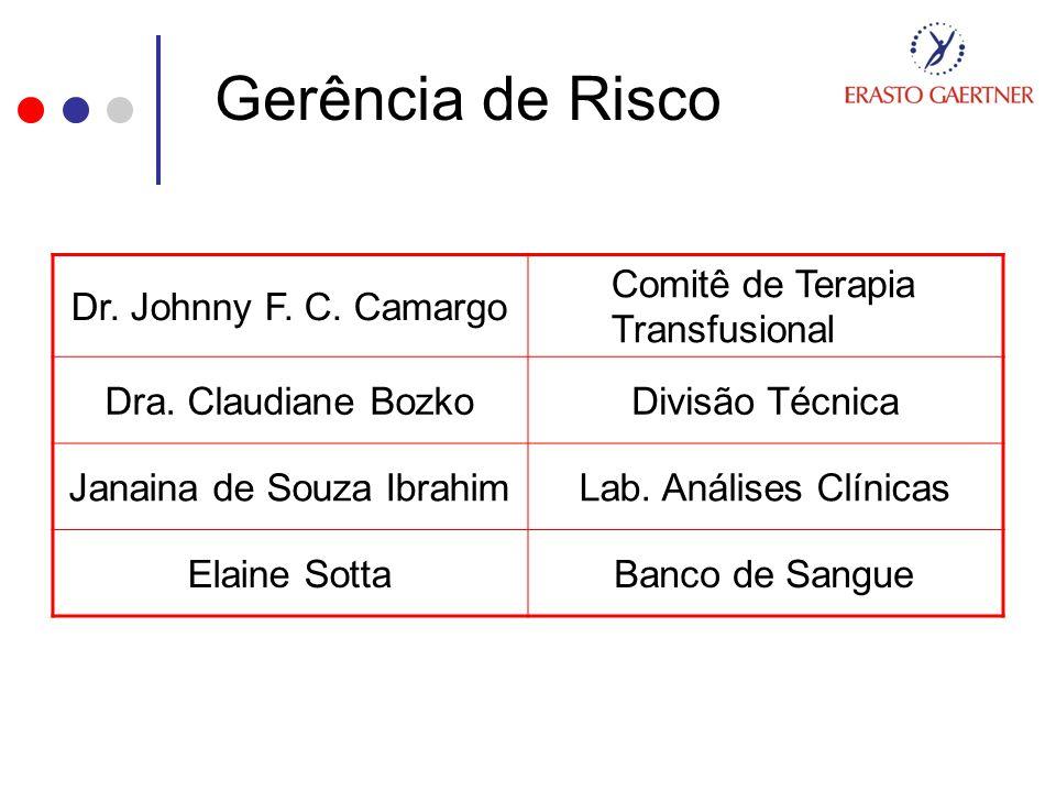 Gerência de Risco Dr. Johnny F. C. Camargo