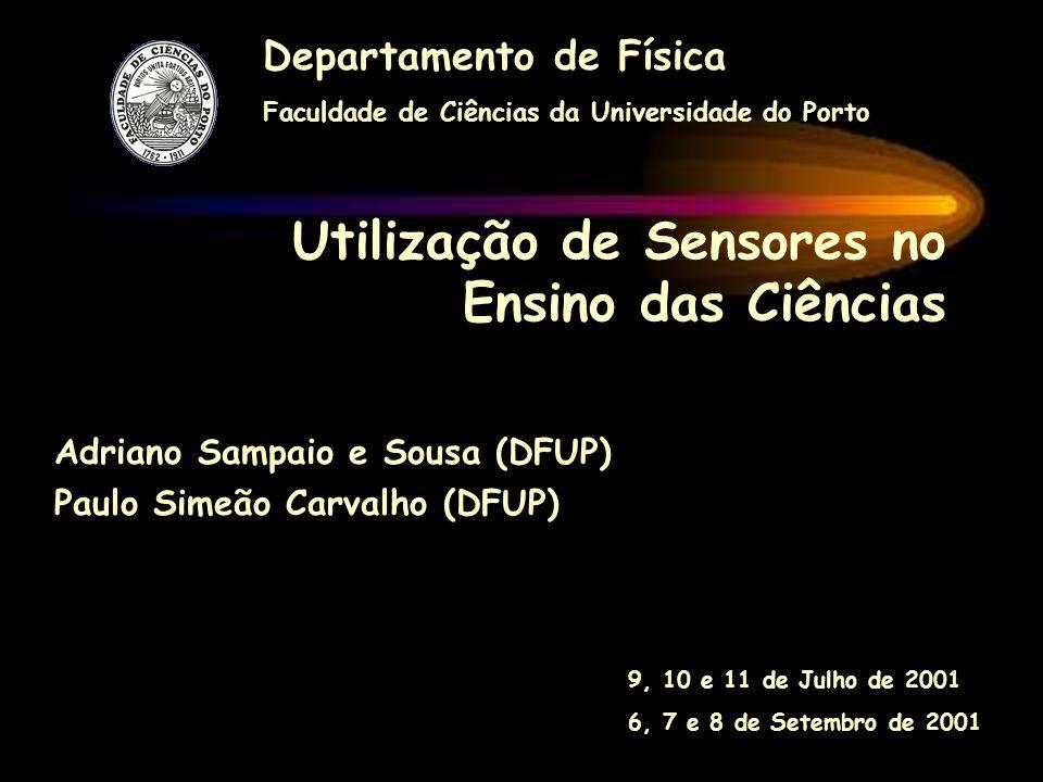Utilização de Sensores no Ensino das Ciências