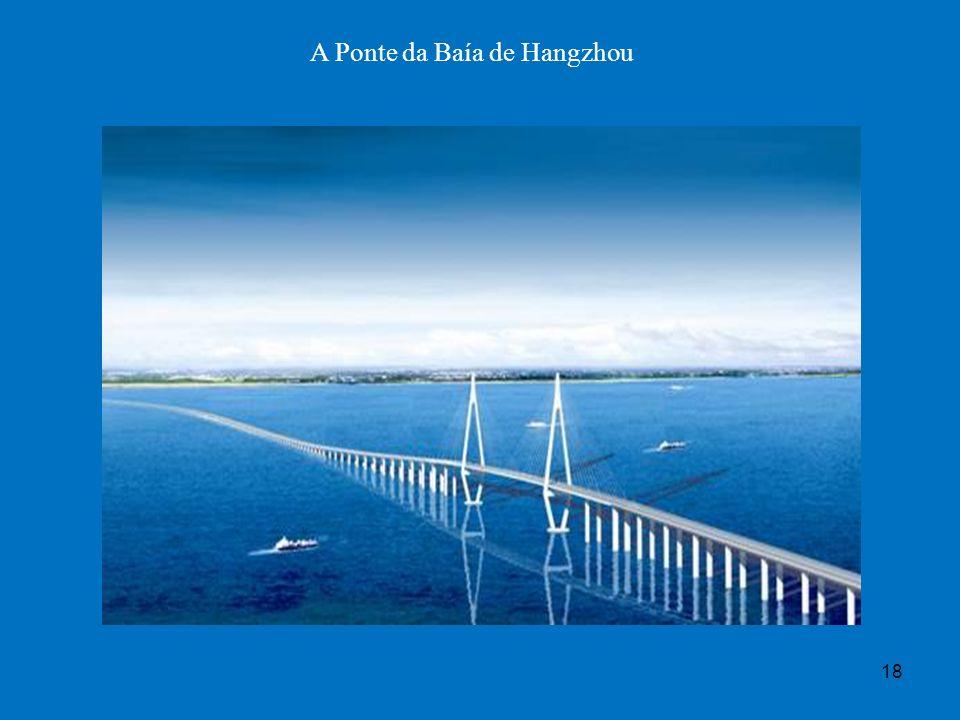 A Ponte da Baía de Hangzhou