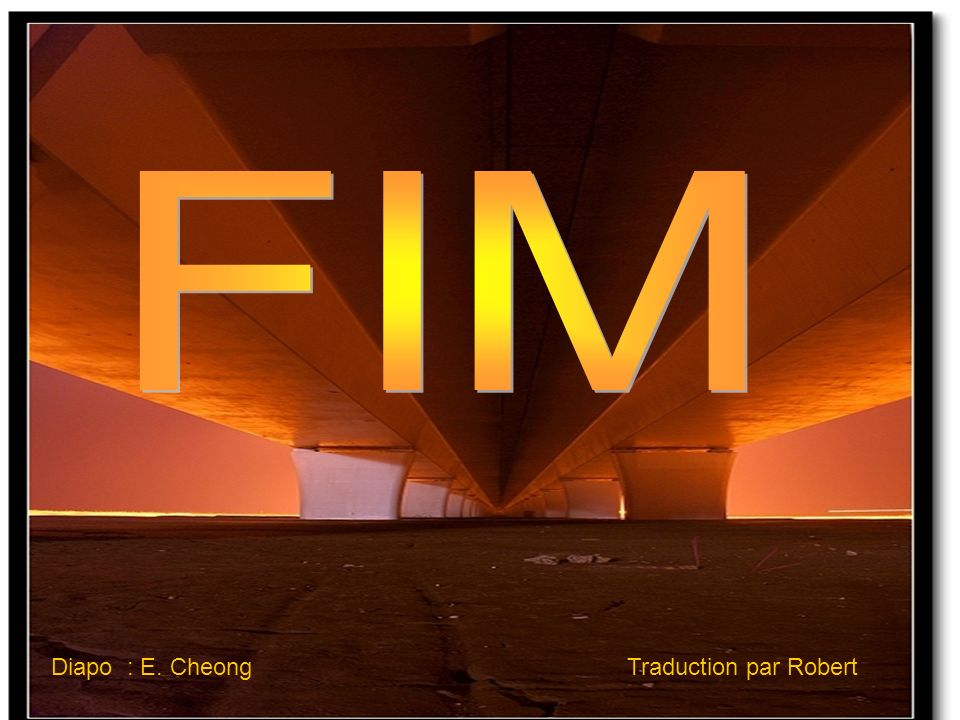 FIM Diapo : E. Cheong Traduction par Robert