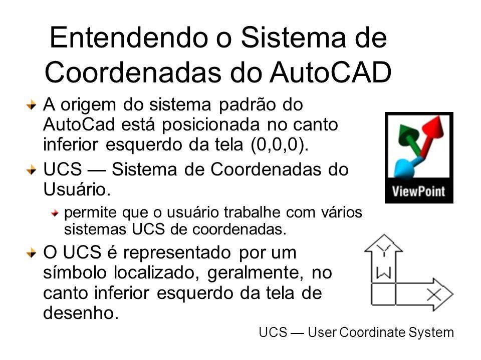 Entendendo o Sistema de Coordenadas do AutoCAD