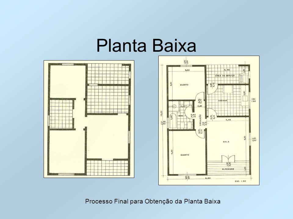 Processo Final para Obtenção da Planta Baixa