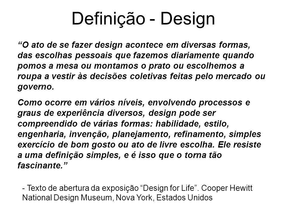 Definição - Design