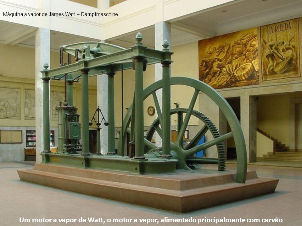 Máquina a vapor de James Watt – Dampfmaschine