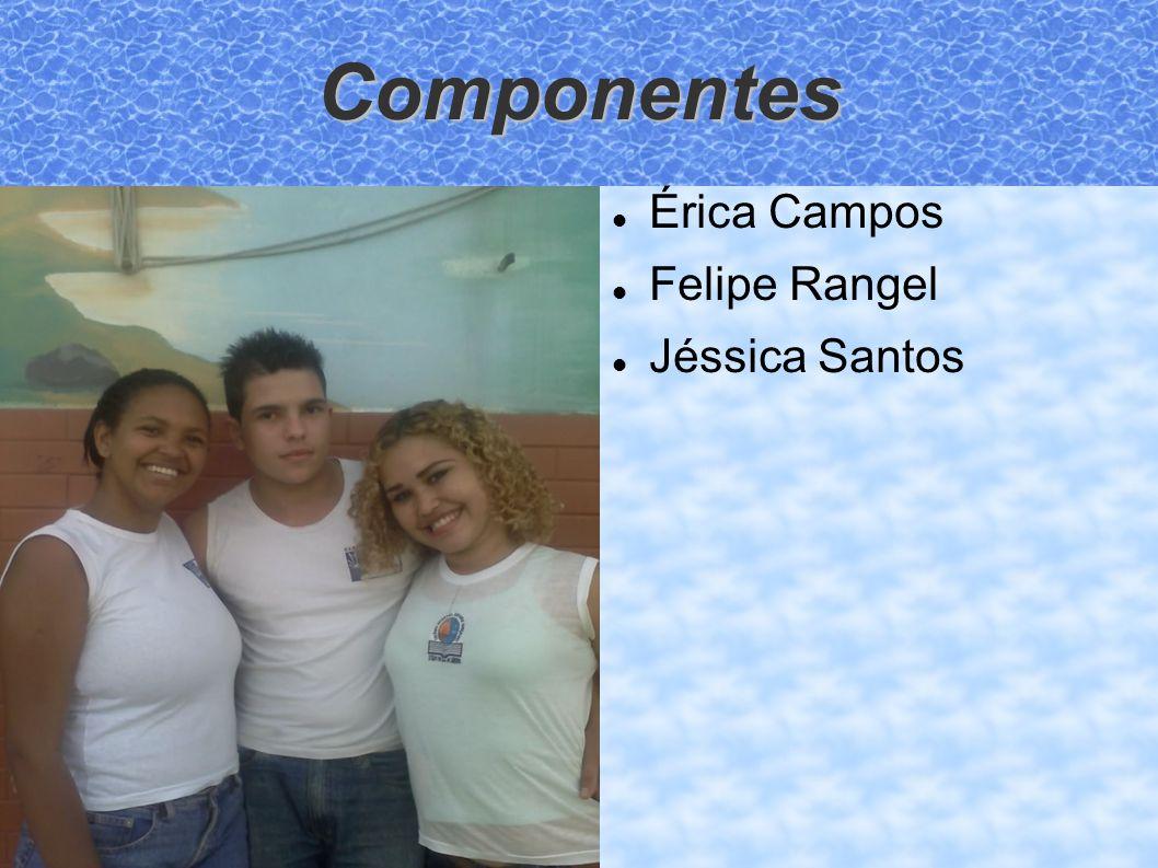 Componentes Érica Campos Felipe Rangel Jéssica Santos
