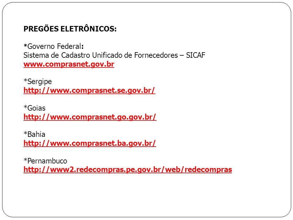 Sistema de Cadastro Unificado de Fornecedores – SICAF