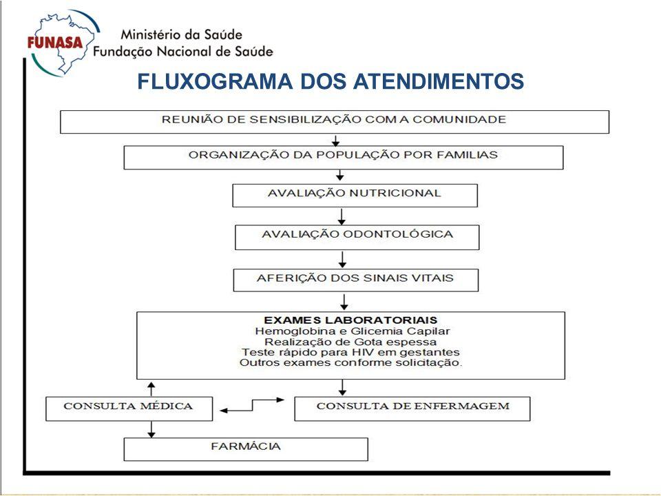 FLUXOGRAMA DOS ATENDIMENTOS