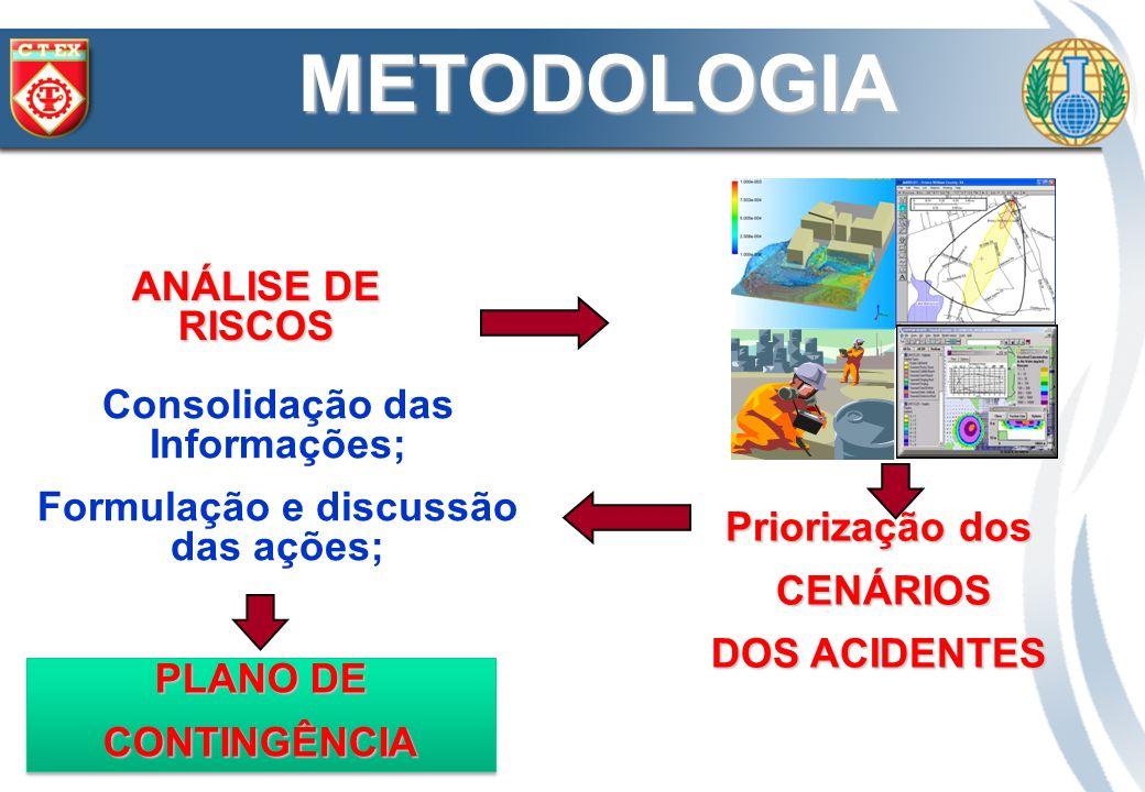 Consolidação das Informações; Formulação e discussão das ações;