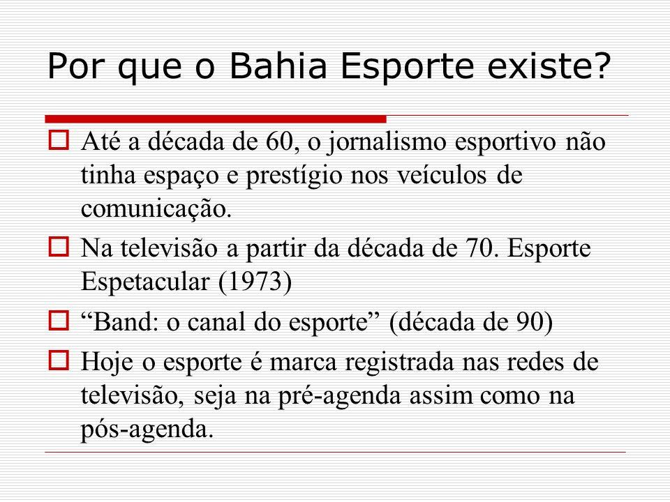 Por que o Bahia Esporte existe