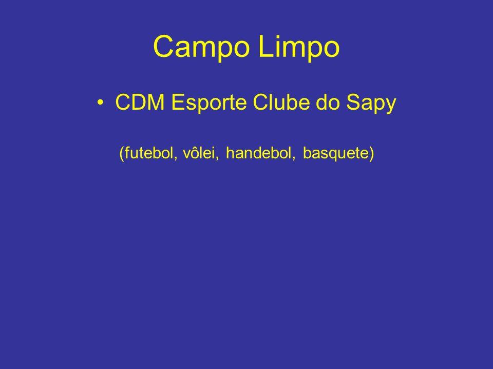 Campo Limpo CDM Esporte Clube do Sapy