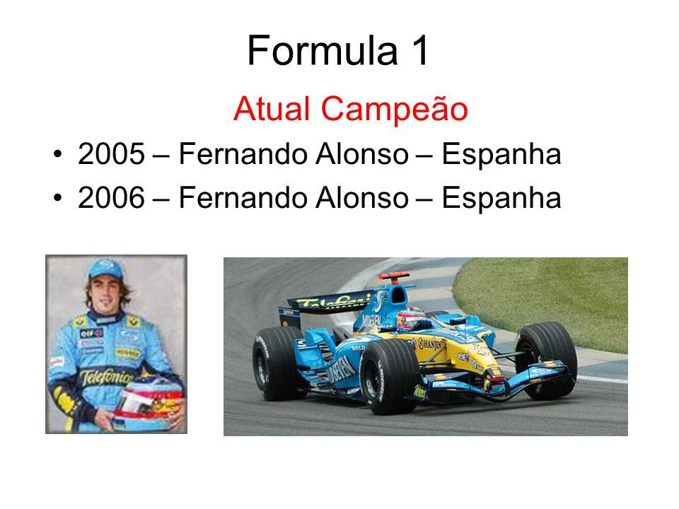 Formula 1 Atual Campeão 2005 – Fernando Alonso – Espanha
