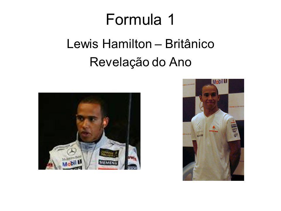 Lewis Hamilton – Britânico