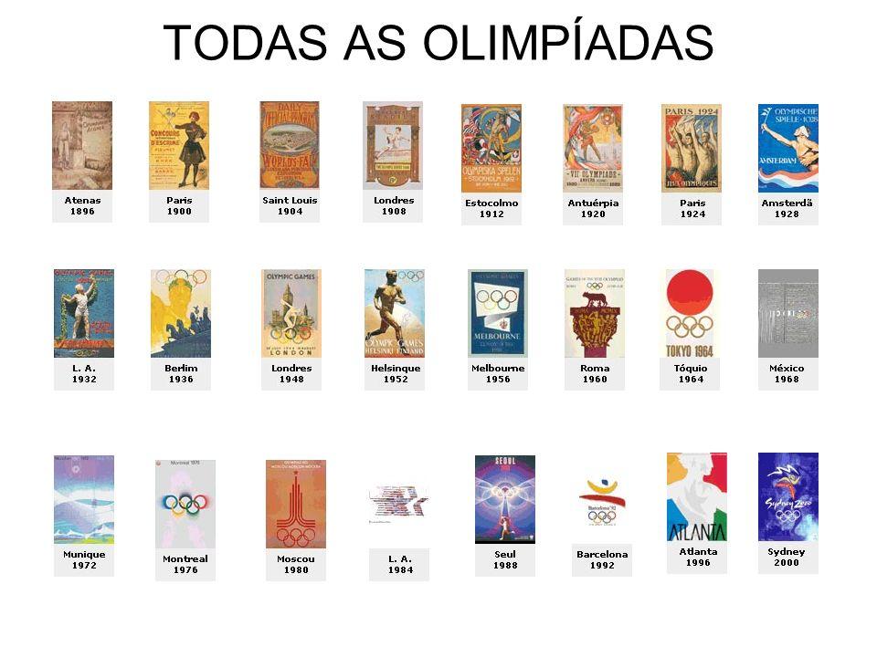 TODAS AS OLIMPÍADAS
