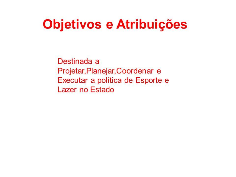 Objetivos e Atribuições