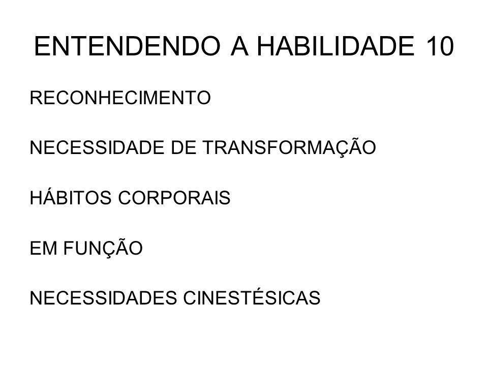 ENTENDENDO A HABILIDADE 10