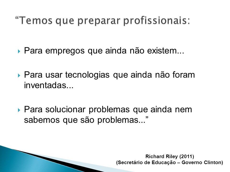 Temos que preparar profissionais: