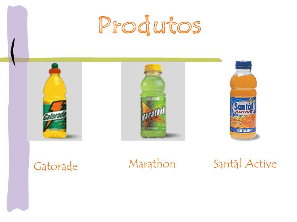 Produtos Marathon Santàl Active Gatorade