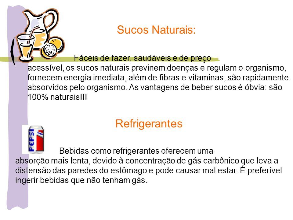 Sucos Naturais: Refrigerantes Fáceis de fazer, saudáveis e de preço