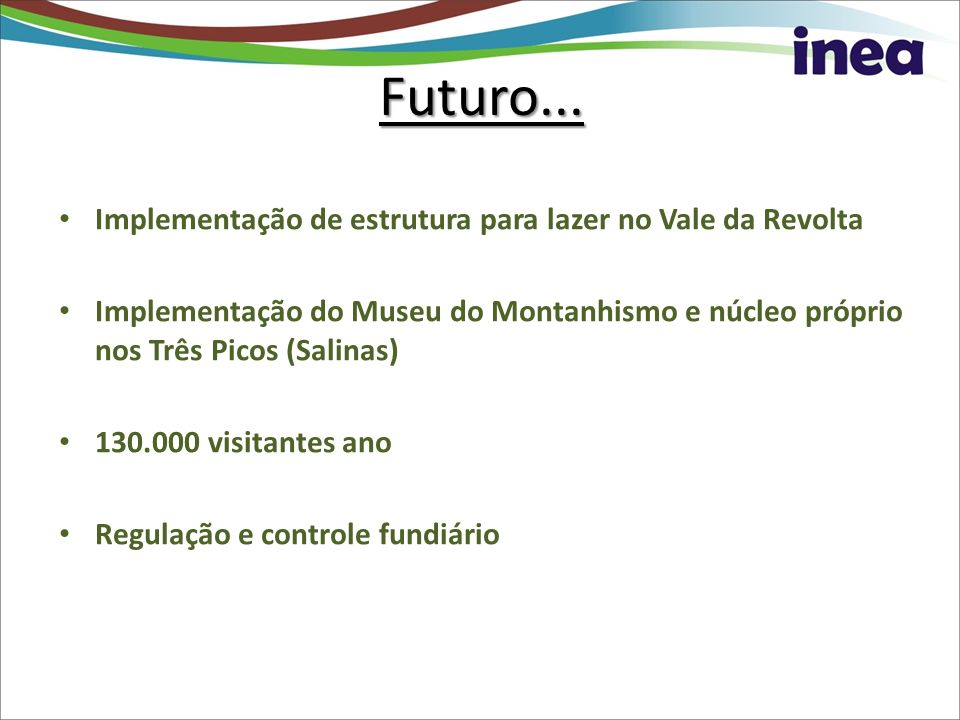 Futuro... Implementação de estrutura para lazer no Vale da Revolta