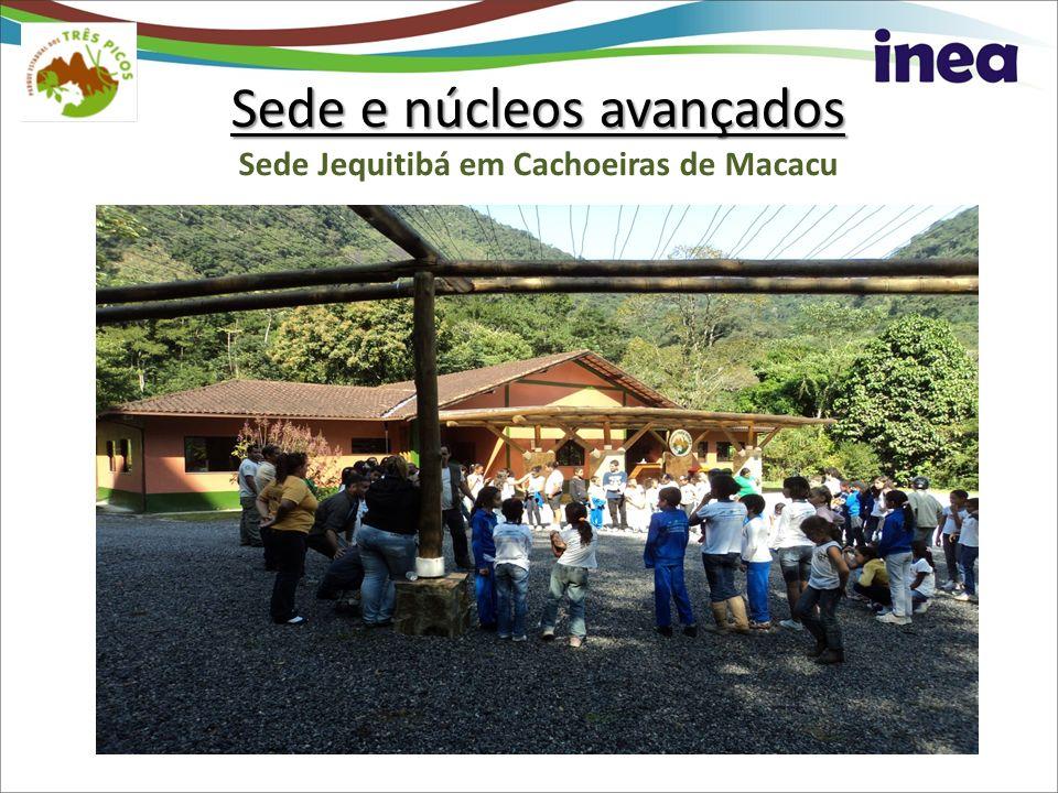 Sede e núcleos avançados Sede Jequitibá em Cachoeiras de Macacu
