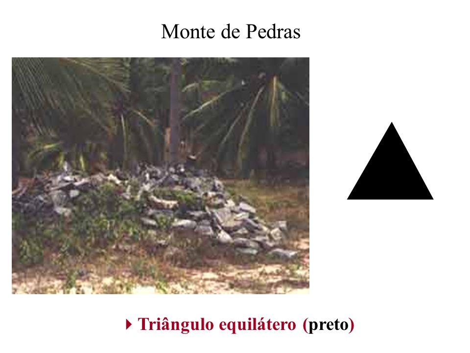 Triângulo equilátero (preto)