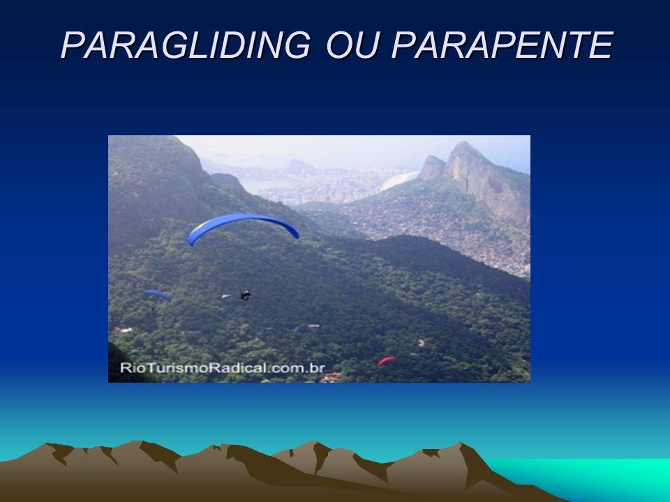 PARAGLIDING OU PARAPENTE