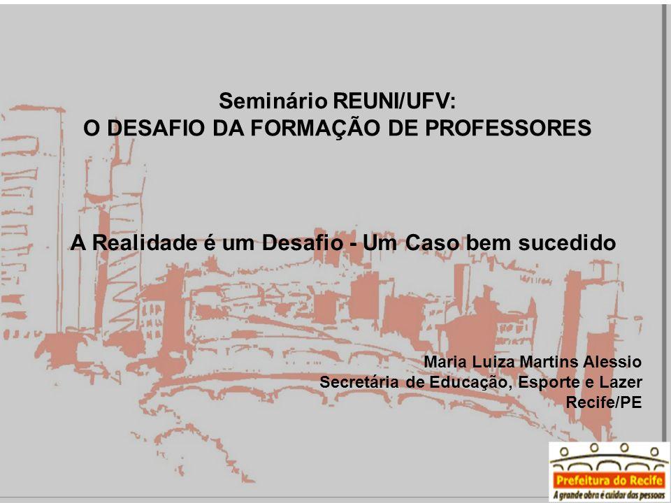 O DESAFIO DA FORMAÇÃO DE PROFESSORES