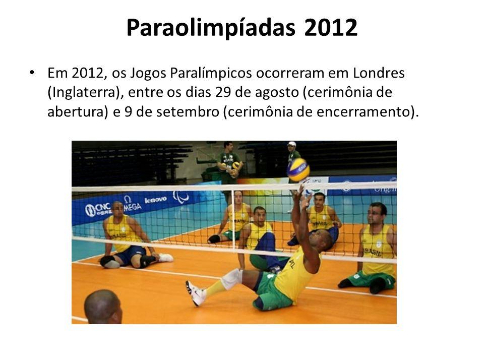 Paraolimpíadas 2012