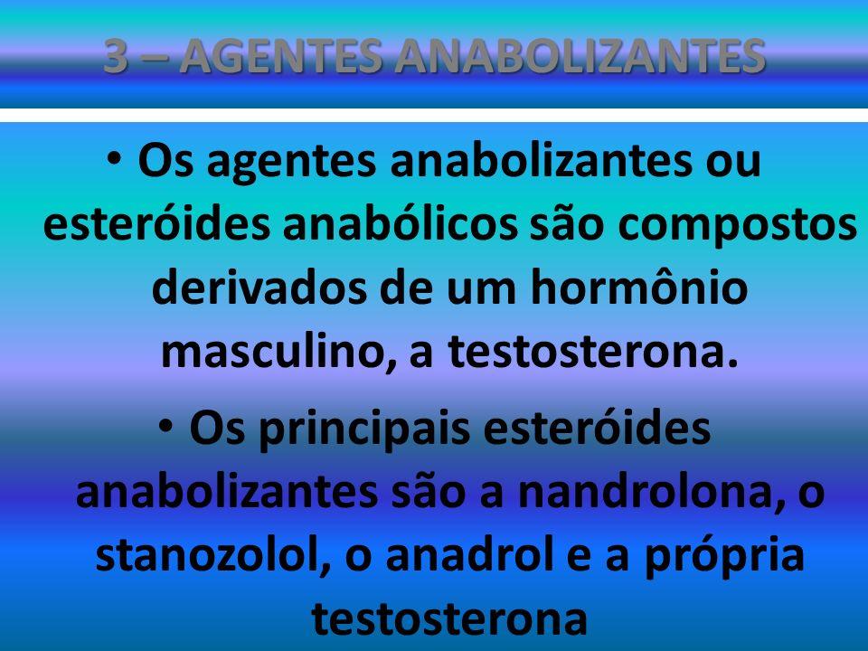 3 – AGENTES ANABOLIZANTES