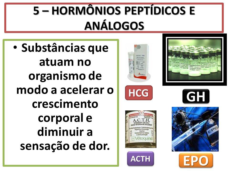5 – HORMÔNIOS PEPTÍDICOS E ANÁLOGOS