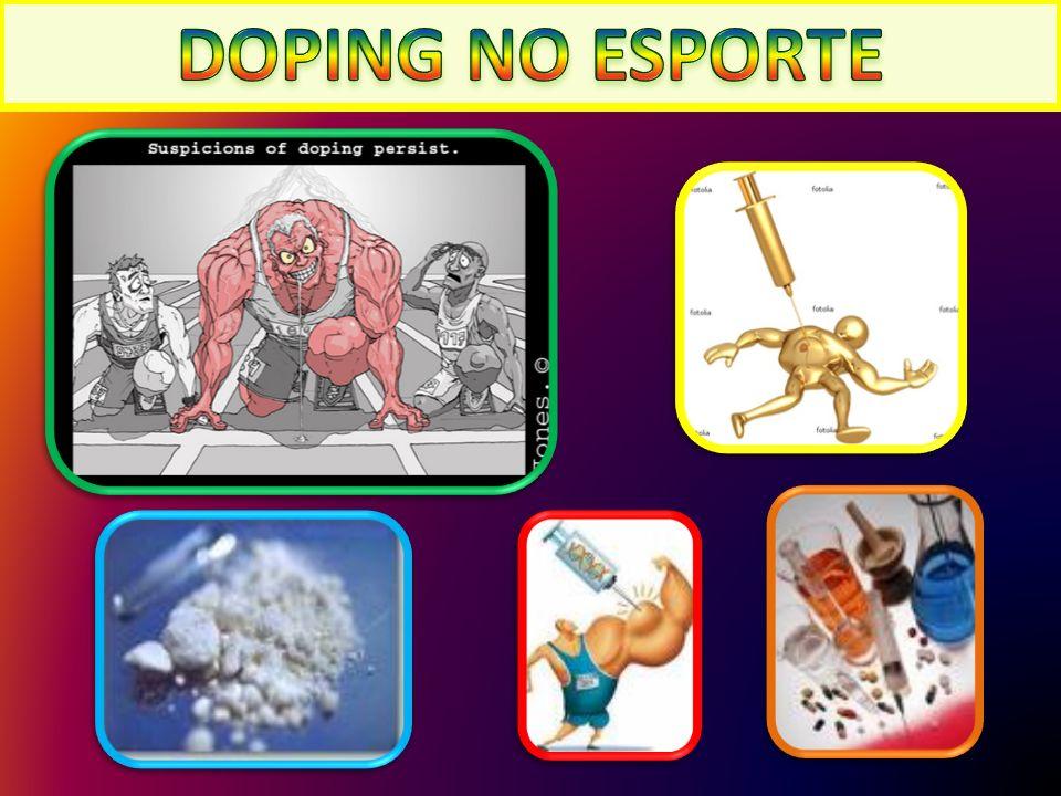 DOPING NO ESPORTE