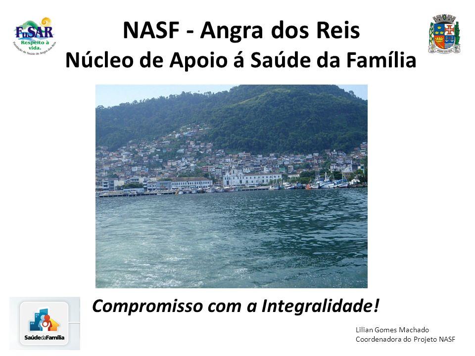 NASF - Angra dos Reis Núcleo de Apoio á Saúde da Família