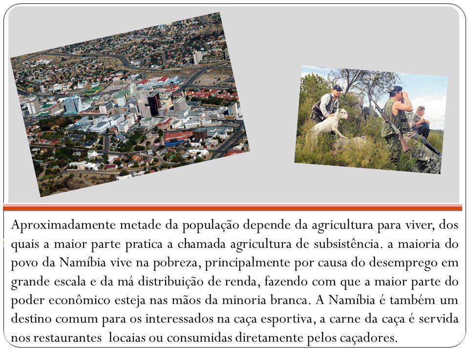 Aproximadamente metade da população depende da agricultura para viver, dos quais a maior parte pratica a chamada agricultura de subsistência.