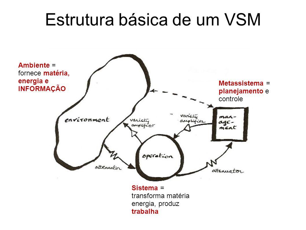 Estrutura básica de um VSM