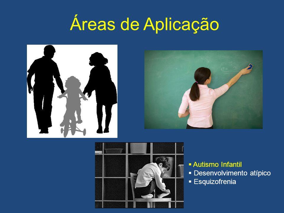 Áreas de Aplicação Autismo Infantil Desenvolvimento atípico