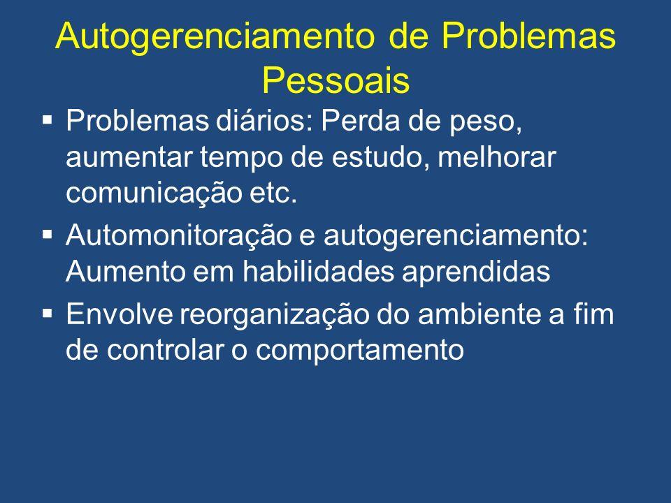 Autogerenciamento de Problemas Pessoais