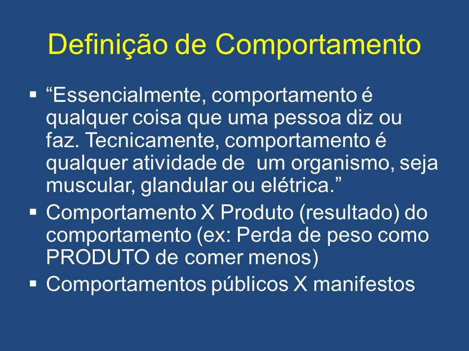 Definição de Comportamento