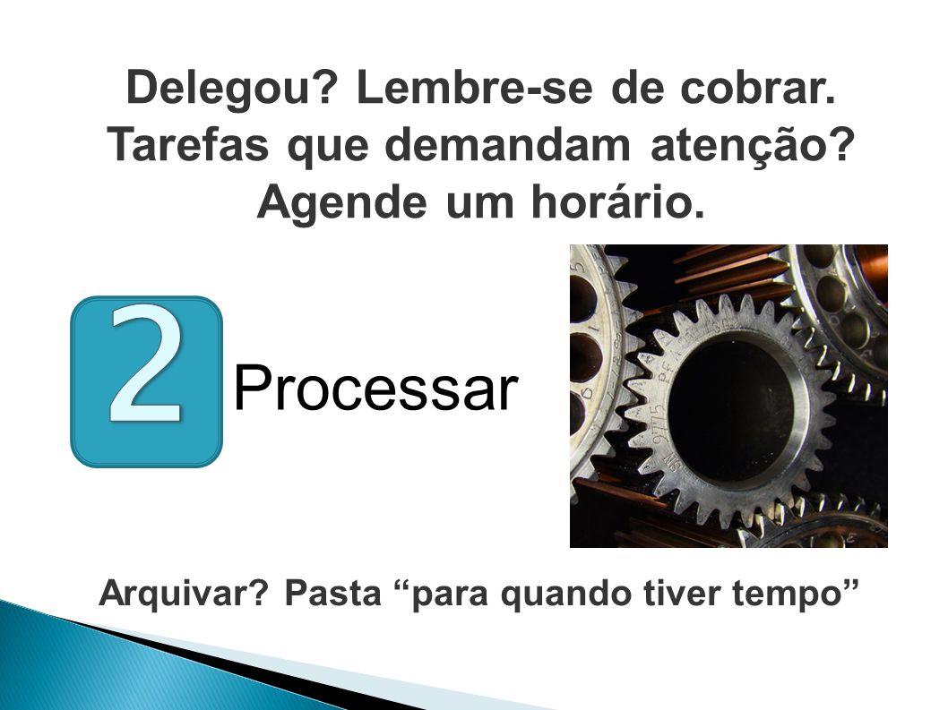 2 Processar Delegou Lembre-se de cobrar.
