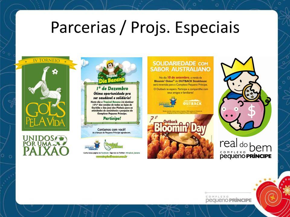 Parcerias / Projs. Especiais