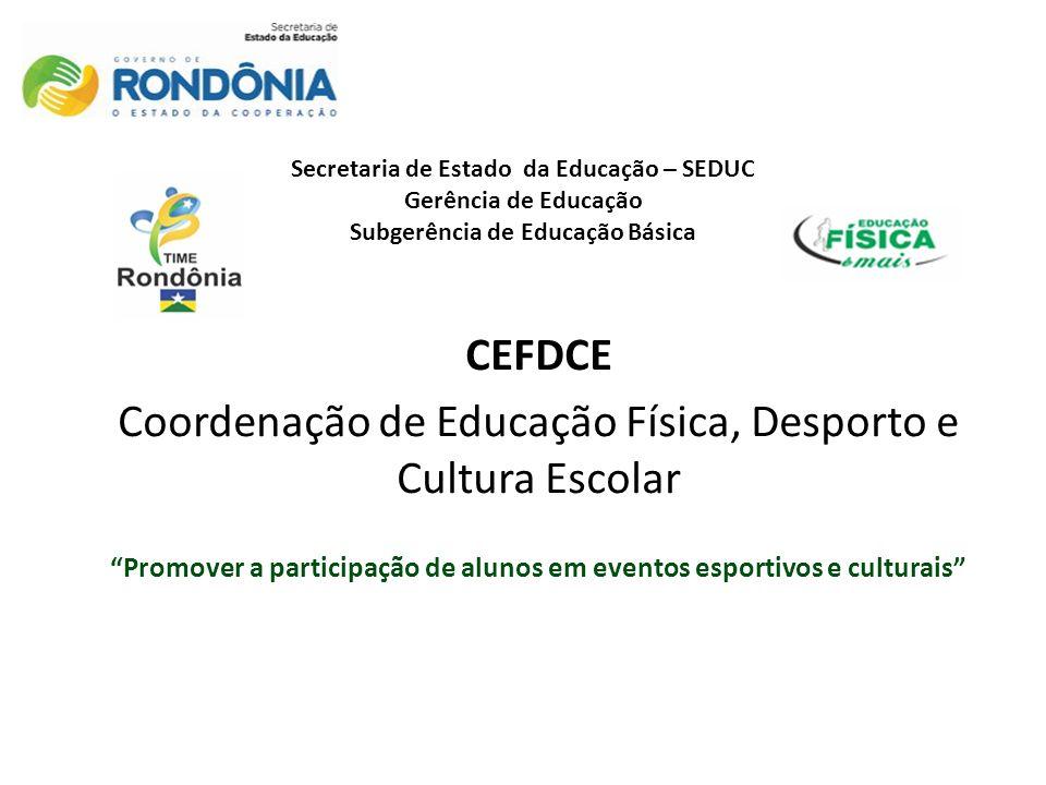 Promover a participação de alunos em eventos esportivos e culturais